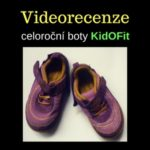 Recenze – KidOFit (Orchide Purple) tenisky